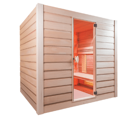 Achat de sauna caen infrarouge ou vapeur cabine sauna bayeux sauna traditi - Sauna traditionnel ou infrarouge ...